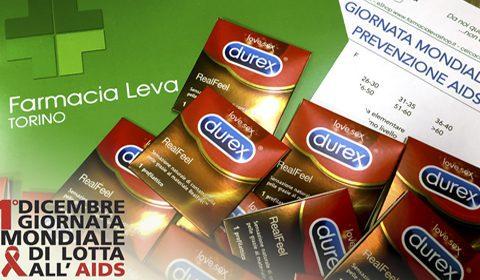 GIORNATA LOTTA AIDS: in collaborazione con DUREX