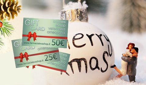 GIFT CARD: Ti mancano gli ultimi regali?